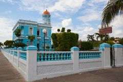 Hotelowy Encanto Palacio Azul, Cienfuegos, Kuba Zdjęcia Stock