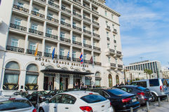 Hotelowy grande bretange Zdjęcie Stock