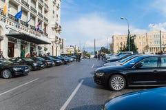 Hotelowy grande bretange i syntagma Obraz Stock