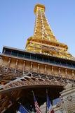 Hotelowy i Kasynowy paryski Las Vegas Obrazy Stock