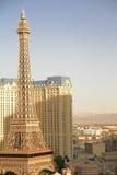 Hotelowy i Kasynowy paryski Las Vegas Zdjęcie Royalty Free