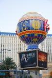 Hotelowy i Kasynowy paryski Las Vegas Zdjęcia Stock
