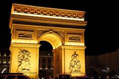 Hotelowy i Kasynowy paryski Las Vegas Obraz Royalty Free