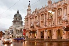Hotelowy Inglaterra - Hawański, Kuba Zdjęcie Royalty Free