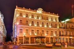 Hotelowy Inglaterra - Hawański, Kuba Zdjęcia Royalty Free