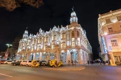 Hotelowy Inglaterra - Hawański, Kuba Obrazy Royalty Free