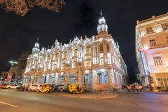 Hotelowy Inglaterra - Hawański, Kuba Zdjęcie Stock