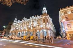 Hotelowy Inglaterra - Hawański, Kuba Obraz Stock