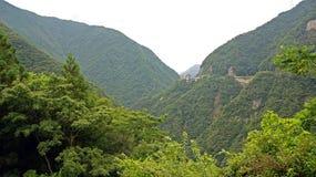 Hotelowy Iya Onsen w Iya dolinie w Japonia Obraz Royalty Free