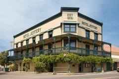 Hotelowy Jeffery Coulterville CA zdjęcia stock