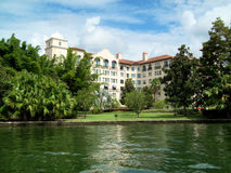 hotelowy jeziorny luksusowy Zdjęcia Stock