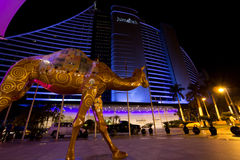 Hotelowy Jumeirah fotografia royalty free