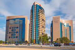 Hotelowy Khalidiya pałac Rotana w Abu Dhabi Obrazy Royalty Free