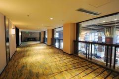 Hotelowy korytarz Zdjęcia Stock