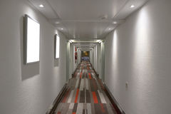 Hotelowy korytarz Zdjęcie Stock