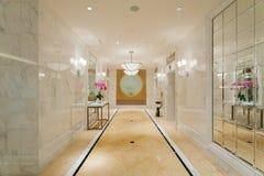 Hotelowy korytarza lobby zdjęcia royalty free