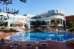 Hotelowy kurort, konwencja i funkcja, Cenntre, Tirana, Albania zdjęcia stock