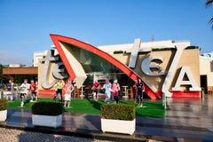 Hotelowy kurort, konwencja i funkcja, Cenntre, Tirana, Albania zdjęcie stock