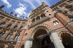 hotelowy London pancras st Zdjęcie Stock