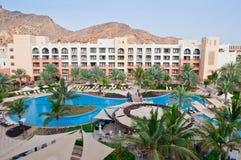 hotelowy luksusowy kurort Zdjęcia Royalty Free