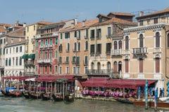Hotelowy Marconi Wenecja Włochy obraz stock