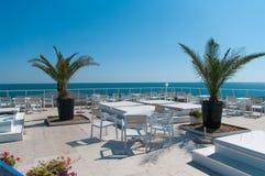 hotelowy morze Obrazy Stock
