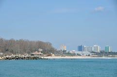 hotelowy morze Zdjęcia Stock