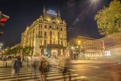 Hotelowy Moskva, Hotelowy Moskwa w Belgrade, Serbia Obraz Stock