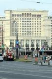 Hotelowy Moskwa Manezh kwadrata letni dzień Obrazy Royalty Free