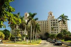 Hotelowy Nacional Hawański Zdjęcia Royalty Free