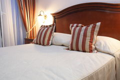 hotelowy nowożytny pokój Fotografia Royalty Free