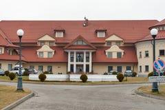 Hotelowy Ossa kongres, zdrój w Rawa Mazowiecka i, Polska zdjęcie stock