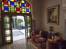 Hotelowy Palais Faraj wnętrze obrazy stock