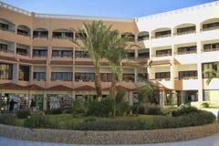 Hotelowy PickAlbatros w Hurghada jest popularnym turystycznym miejsce przeznaczenia obraz stock