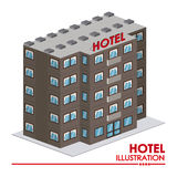 Hotelowy projekt Zdjęcia Stock