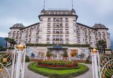 Hotelowy Regina pałac, Stresa, Włochy Fotografia Stock