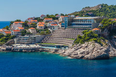 Hotelowy Rixos Libertas Dubrovnik obraz royalty free