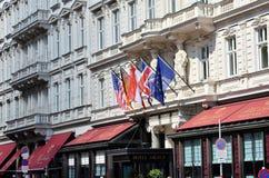 Hotelowy Sacher w Wiedeń Fotografia Royalty Free
