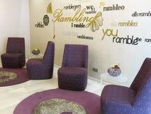 Hotelowy sala los angeles Rambla, Barcelona Fotografia Royalty Free