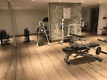 Hotelowy Salowy Gym Obrazy Royalty Free