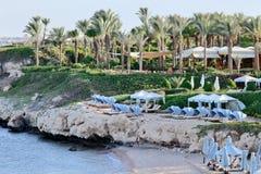 hotelowy seashore Fotografia Stock