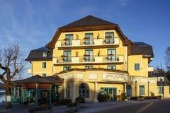 Hotelowy Seerose w Fuschl am Widzii, Austria, 2016 fotografia stock