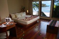 Hotelowy sypialnia apartament Zdjęcia Royalty Free