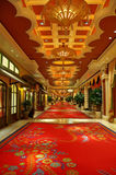 hotelowy wewnętrzny luksus Obrazy Royalty Free