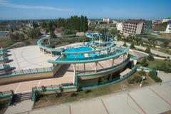 hotelowy widok Zdjęcia Stock