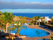 Hotelowy wyspa kurort Fotografia Stock
