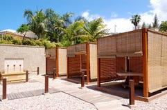 hotelowych bud luksusowy masażu zdrój Obrazy Stock