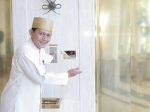Hotelpage oder Hausmeister Lizenzfreie Stockfotografie