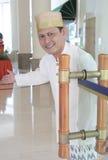 Hotelpage oder Hausmeister Stockbilder