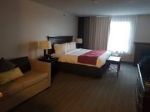 Hotelreeks stock afbeelding